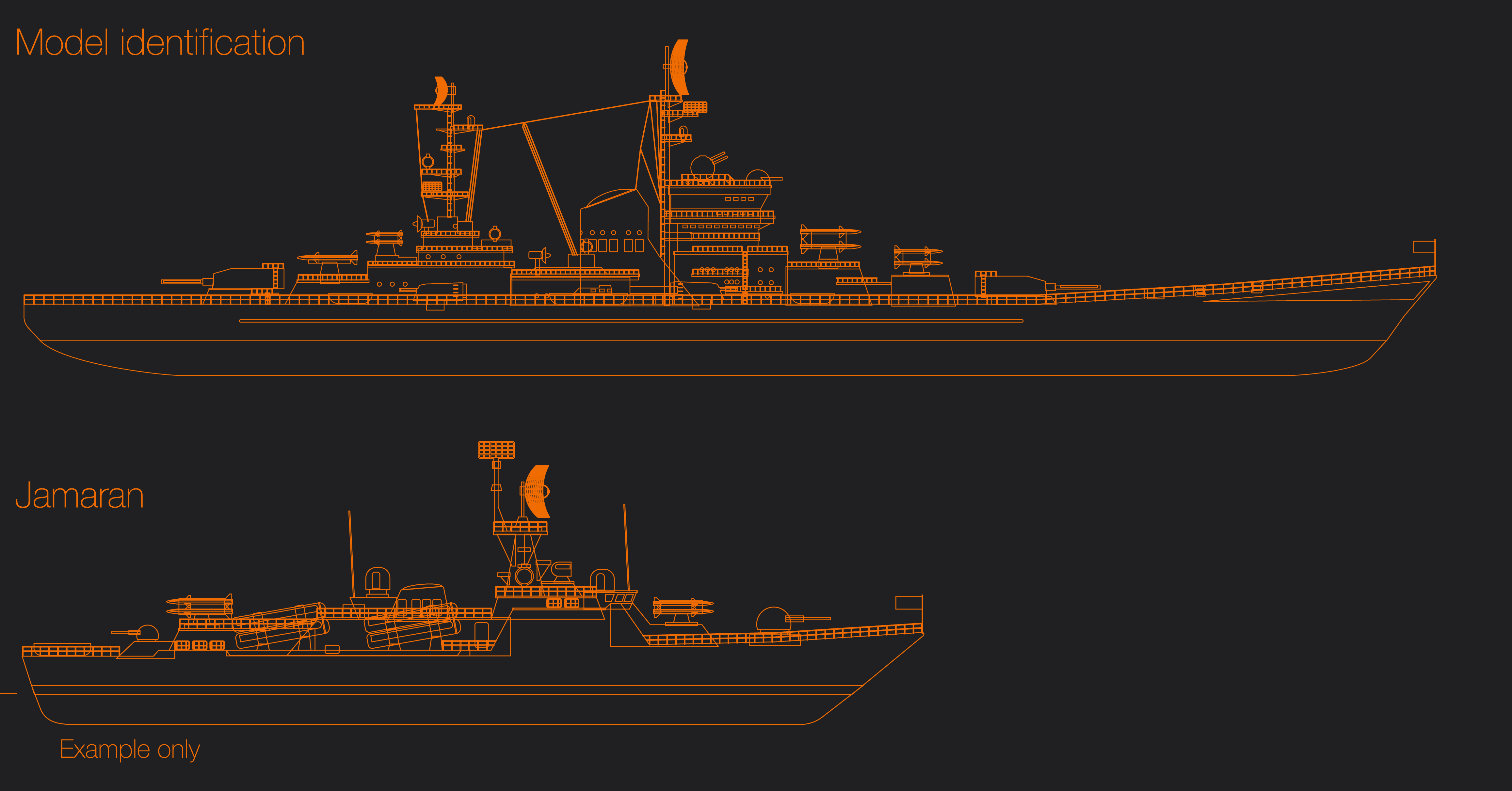 Image of specifications military ship