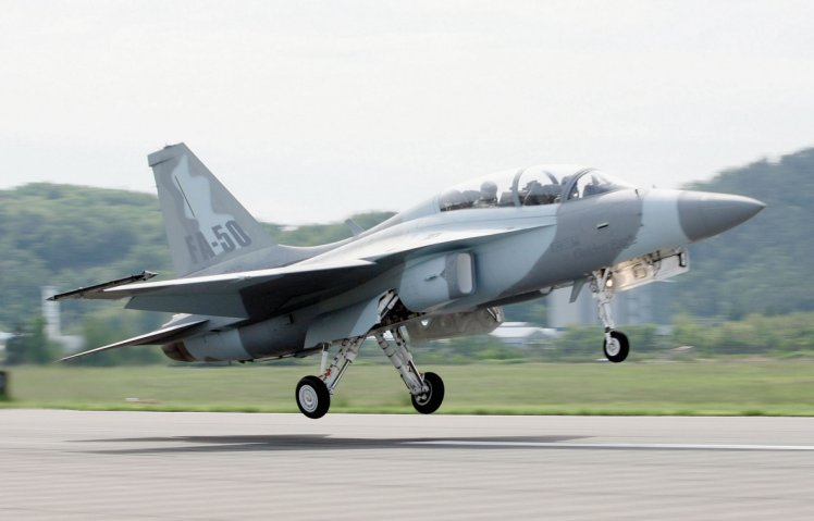 The South Korean FA-50 has fallen foul of a UK arms embargo on Argentina, with its manufacturer informing the South American nation that the aircraft's British made parts mean it cannot be sold as requested. (KAI)