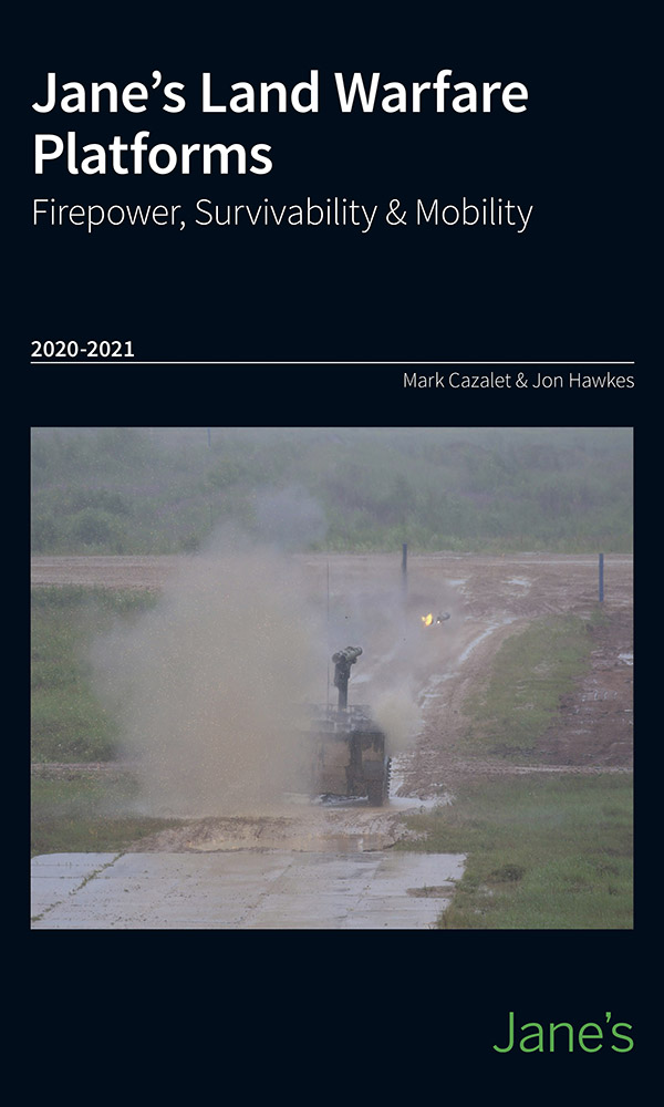 Jane's Land Warfare Platforms - Firepower, Survivability & Mobility 2020-21
