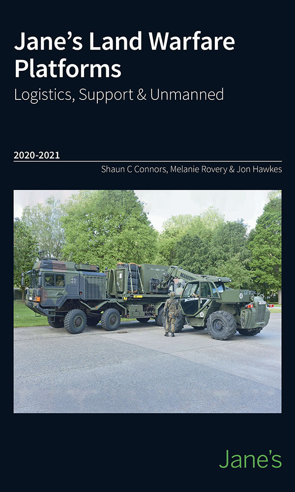Jane's Land Warfare Platforms - Logistics, Support & Unmanned 2020-21