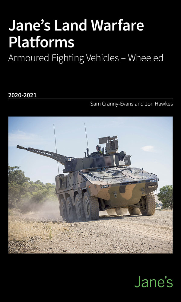 Jane's Land Warfare Platforms -Armoured Fighting Vehicles -Wheeled 2020-21